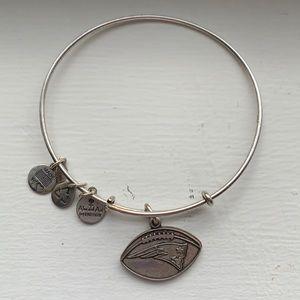 Alex and Ani New England Patriots charm bracelet